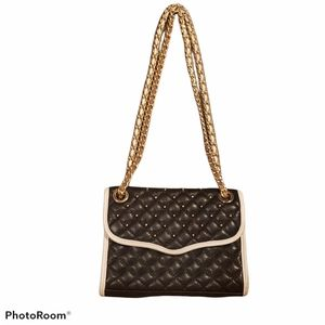 Rebecca Minkoff Studded Quilted Affair Bag in Blck